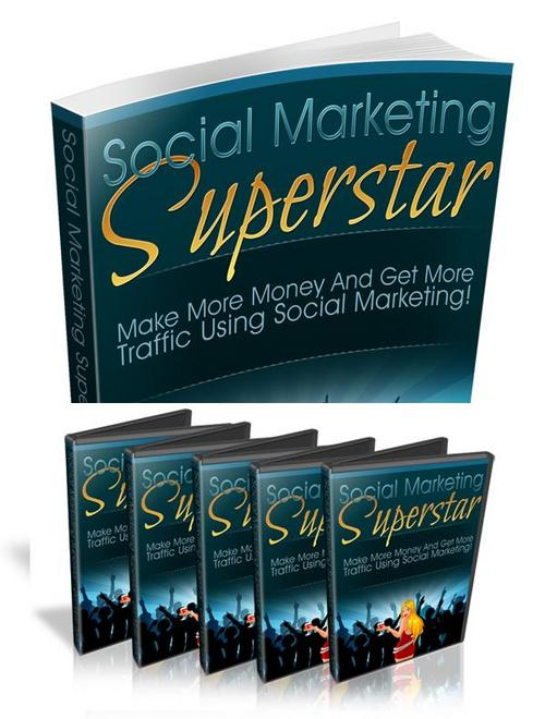 Product picture Collection Social Marketing Superstar + Bonuses and Videos