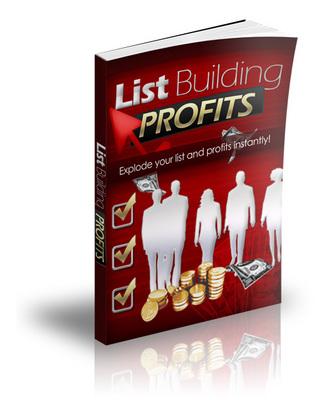 Product picture List Building Profits + Bonuses